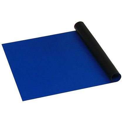 "Dissipative Dual Layer Rubber Roll, Dark Blue, .060"" x 30"" x 50'"