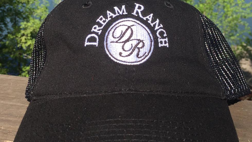 Black Mesh Hat
