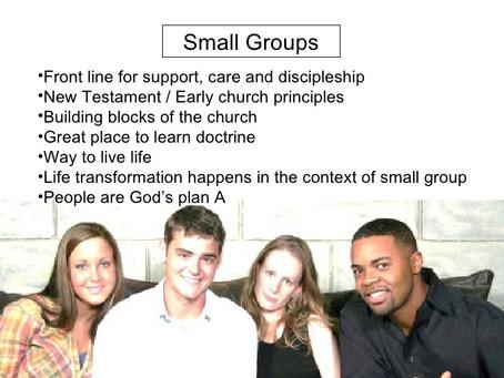 本週評論:教會的團組發展