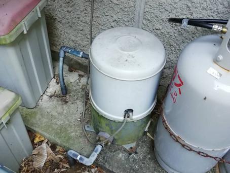 井戸用ポンプの交換 阿南市