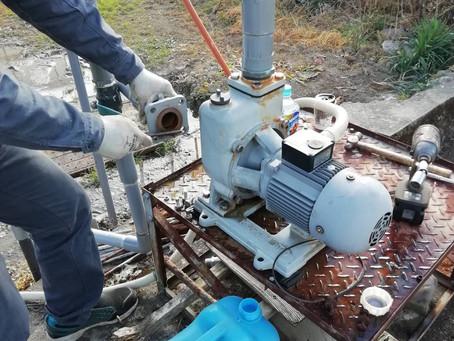 井戸ポンプの修理 勝浦町