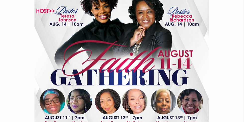 Daughters of Zion Faith Gathering Luncheon
