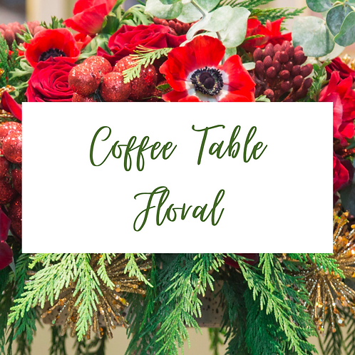 Coffee Table Floral