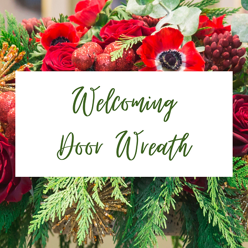 Welcoming Door Wreath