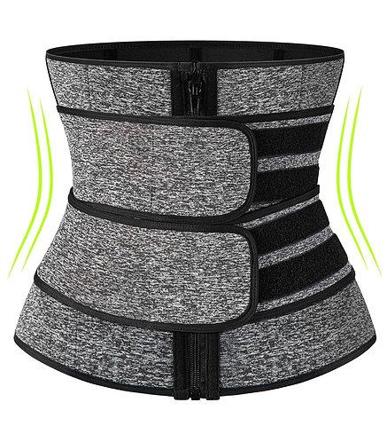 Sauna waist trainer corset sweat belt