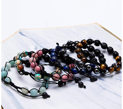 Aromatherapy essential oil bracelet