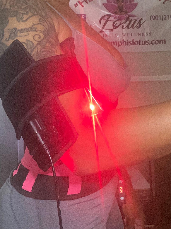 Arm Lipo Belt w/wood therapy