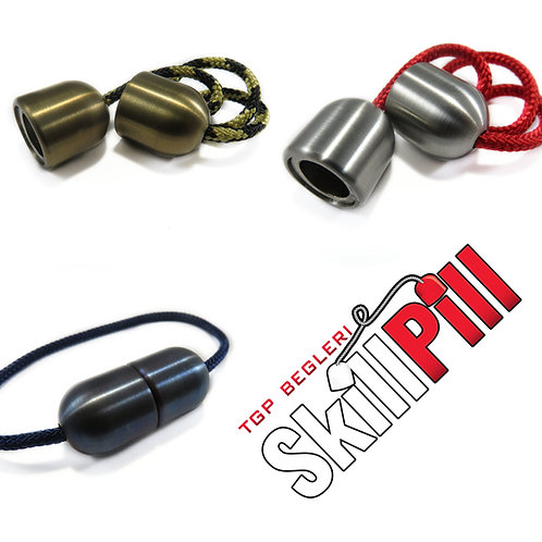 Stainless Steel Skill Pill Begleri