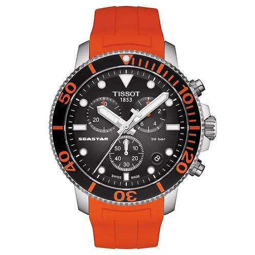TISSOT SEASTAR 1000 CHRONOGRAPH T120.417.17.041.00 orange