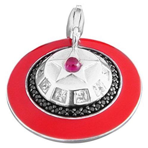 T0067-1-795 THOMAS SABO UFO Rot Silber
