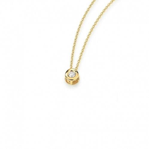 Palido Collier Gelbgold Brillanten K10815/G