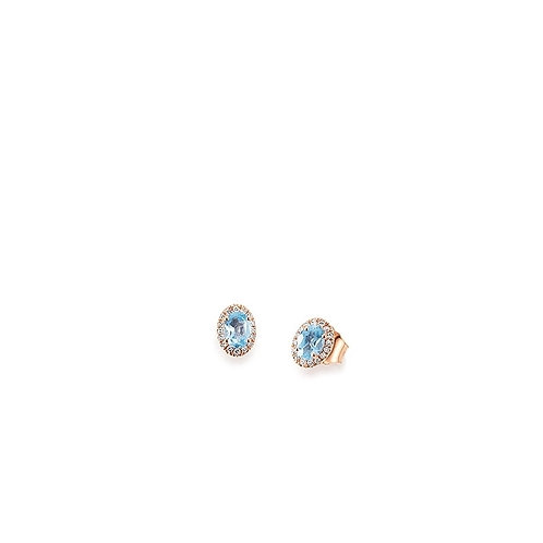 Palido Ohrringe Roségold Diamanten K11613R