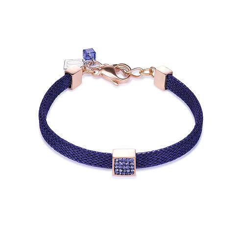 Coeur de Lion Armband Kristalle Pavé & Mesh lila 10217300800