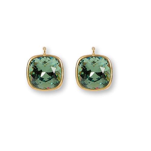 14mm Kristall vergoldet, 14mm Einhängerpaar, erinith