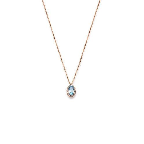 Palido Collier Roségold Diamanten K11612R