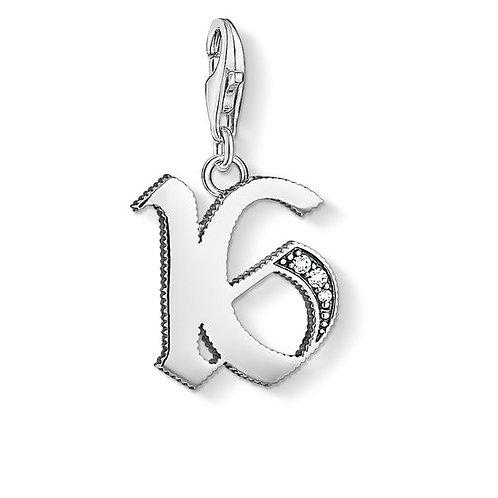 "1509-643-21 THOMAS SABO CHARM-ANHÄNGER ""16"""