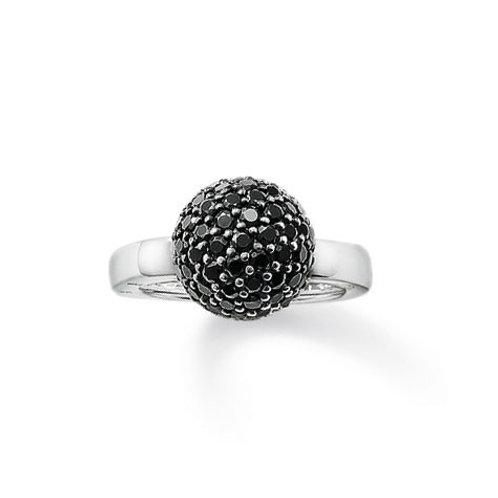 TR1871 THOMAS SABO Ring mit schwarzer Kugel
