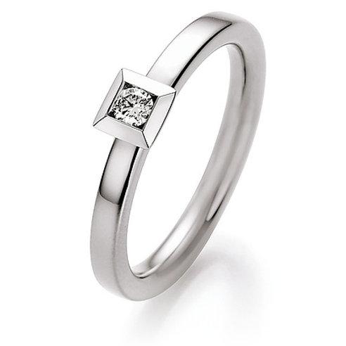 CR Ruesch Ring Solitaire WG 025