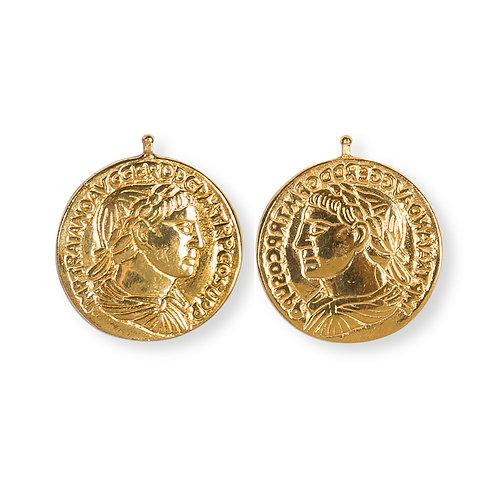 23mm Münzen, Einhängerpaar