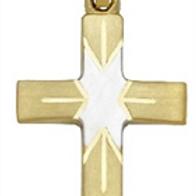 Kreuz bicolor matt