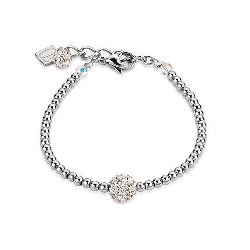 Coeur de Lion Armband Kristalle Pavé & Hämatit crystal 0112301800