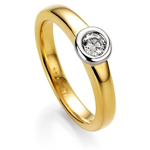 CR Ruesch Ring Solitaire GW 030