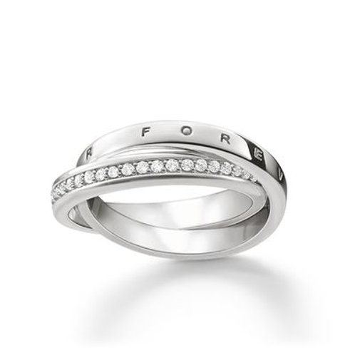 """TR2099-051-14 Thomas Sabo Ring """"TOGETHER FOREVER"""" Silber"""