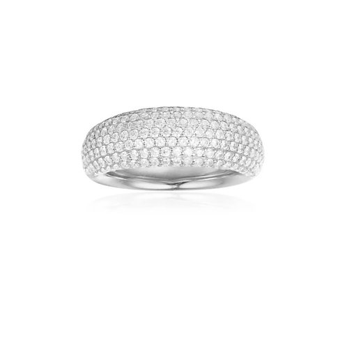 A18268OX APM Monaco Courchevel Ring Silber