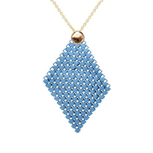 Halskette   TOPAZ BLUE   LARGE