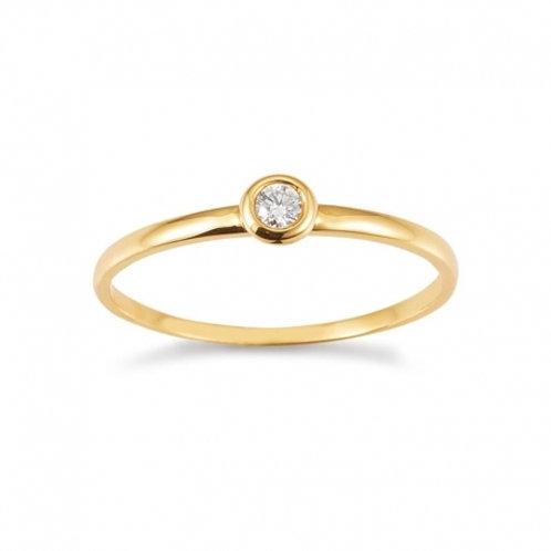 Palido Ring Gelbgold Brillanten K10486/G