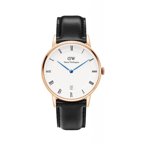 DW00100092 DW Dapper Sheffield 34mm Rosegold