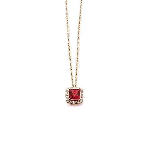 Palido Collier Roségold Diamanten K11621R
