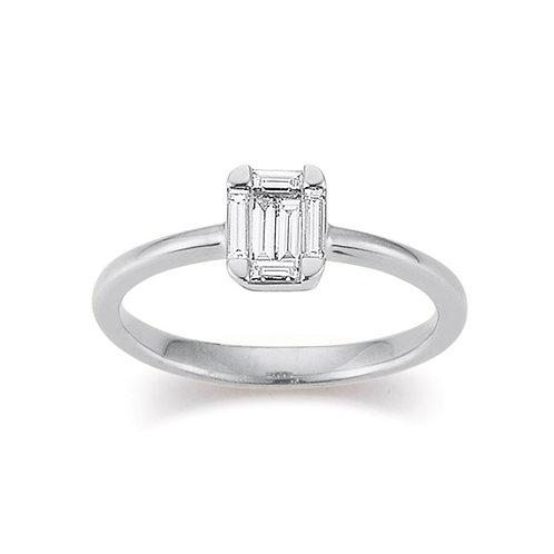 Palido Ring Weißgold Diamant S4492