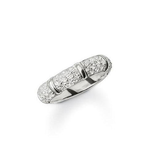 TR1902 THOMAS SABO Ring mit Steinen besetzt