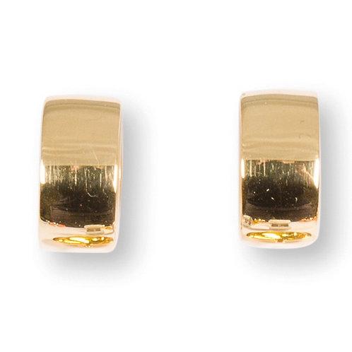 Basis-Creole Mila Silber Gelbvergoldet C152002