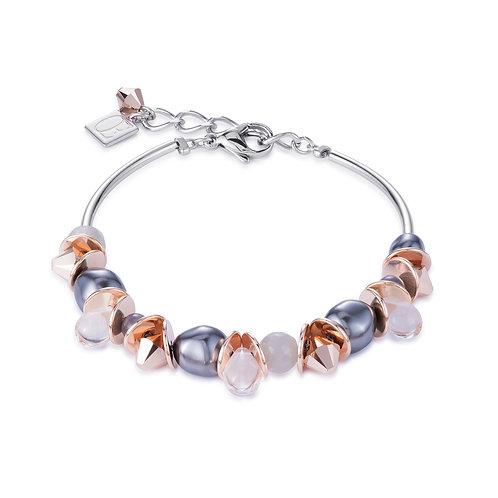 Coeur de Lion Bracelet frontline Swarovski® Crystal Pearls
