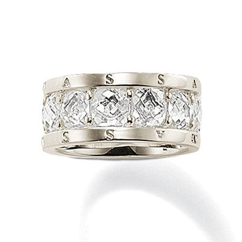 TR1756 THOMAS SABO Ring Weiß Silber