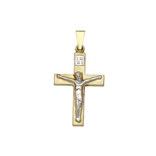 Kreuz mit Korpus bicolor
