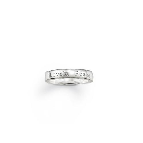 "TR1906 THOMAS SABO Ring ""LOVE'N PEACE"""