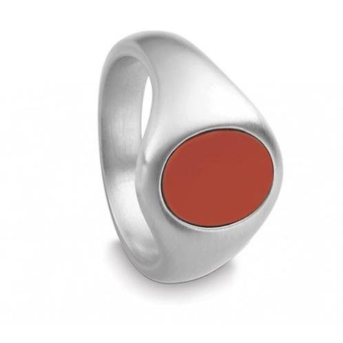Quinn IQ Siegelring oval mit Stein