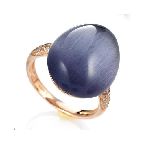 FABERGÉ Ring Violett
