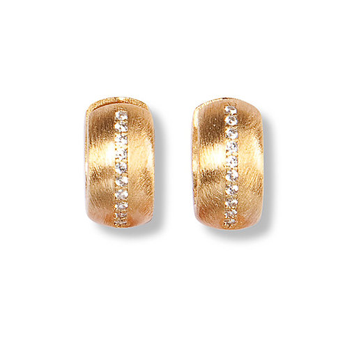 Basis-Creole Lola Silber Gelbvergoldet C147808000000