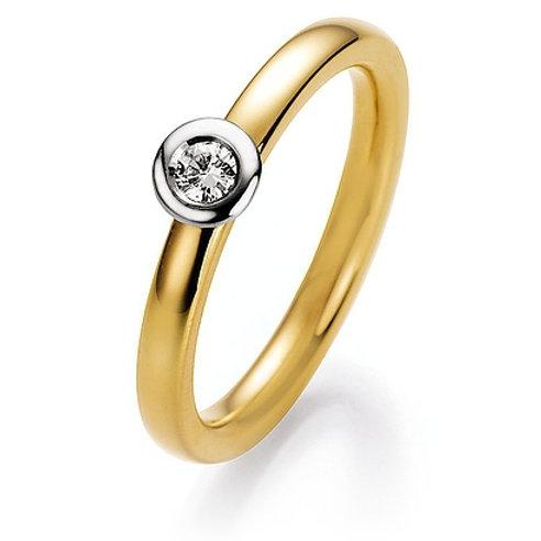 CR Ruesch Ring Solitaire GW 025