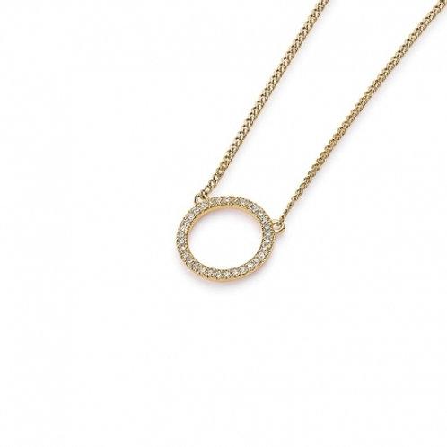 Palido Collier Gelbgold Diamanten Kreis K10529/G