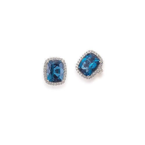 Palido Ohrringe Roségold Diamanten S4182