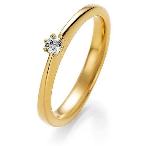 CR Ruesch Ring Solitaire GG 028