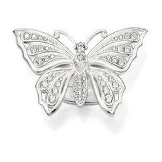 TR1894 THOMAS SABO SchmetterlingsRing Silber