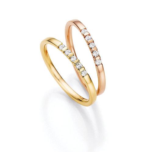 CR Ruesch Ring GG RG WG 018-05 Eheringe