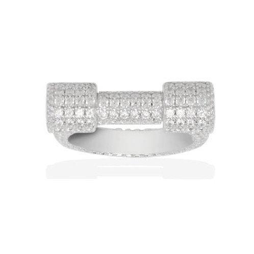 A16200OX APM Monaco BAGUE Ring Silber