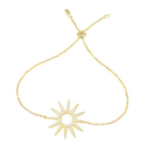 AB3388OXY APM Monaco ETE RAMATUELLE Armband Gelbvergoldet